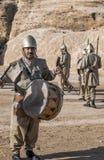 Nabatean soldater Royaltyfri Bild