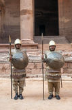Nabatean soldiers Royalty Free Stock Photo