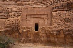 Free Nabatean Tomb In Madaîn Saleh Archeological Site, Saudi Arabia Stock Images - 51982514