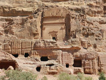 Nabatean tomb Royalty Free Stock Photos
