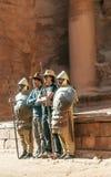 Nabateanmilitairen Royalty-vrije Stock Afbeeldingen