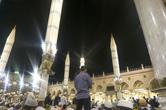 Nabawi meczet Zdjęcia Stock