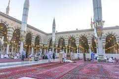 Nabawi meczet Obraz Royalty Free