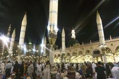 Nabawi meczet Fotografia Royalty Free