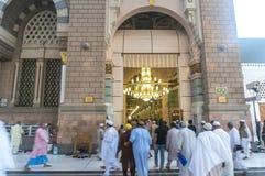 Nabawi meczet Zdjęcie Royalty Free
