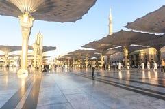Nabawi meczet Fotografia Stock
