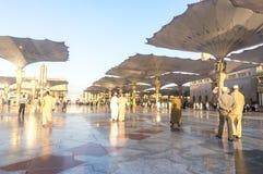 Nabawi meczet Zdjęcia Royalty Free