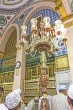 Nabawi-Moschee Lizenzfreie Stockfotos