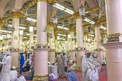 Nabawi-Moschee Lizenzfreies Stockfoto