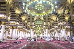 Nabawi-Moschee stockbilder
