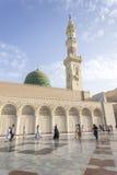Nabawi-Moschee lizenzfreie stockfotografie