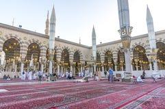 Nabawi moské royaltyfri foto