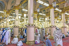 Nabawi moské royaltyfria foton