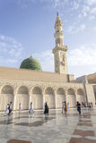 Nabawi Mosque Royalty Free Stock Photography