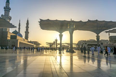 Nabawi Mosque Royalty Free Stock Image