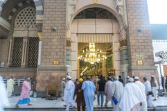 Nabawi Mosque Royalty Free Stock Photo