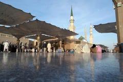 Nabawi Mosque, Medina, Saudi Arabia Royalty Free Stock Image