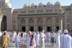 Nabawi Mosque, Medina, Saudi Arabia Stock Photography