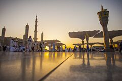 Free Nabawi Mosque, The Prophet Muhammad Mosque Royalty Free Stock Photo - 178865765
