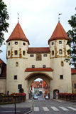 Nabburger Tor (Nabburg's Gate) Royalty Free Stock Photos