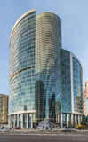 Naberezhnaya tower business center Moscow-city. Royalty Free Stock Photography