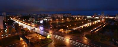 Naberezhnye Chelny,俄罗斯- 2014年10月7日:都市风景视图为 库存图片