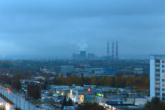 Naberezhnye Chelny, Ρωσία - 7 Οκτωβρίου 2014: άποψη εικονικής παράστασης πόλης για Στοκ φωτογραφίες με δικαίωμα ελεύθερης χρήσης