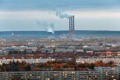 Naberezhnye Chelny, Russia - October 7, 2014: City Skyline with stock photos