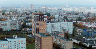 Naberezhnye Chelny, Russia - October 7, 2014: City Skyline with stock photography