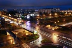 Naberezhnye Chelny, Russia - October 7, 2014: cityscape view fro royalty free stock image