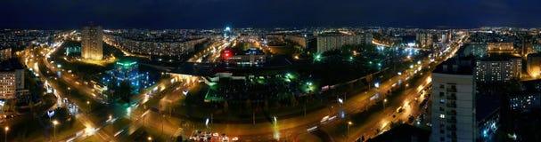 Naberezhnye Chelny, Russia - October 7, 2014: cityscape view fro stock image