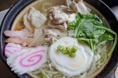 Nabeyaki Udon Stock Image