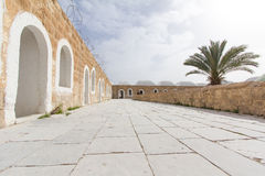 Nabi Musa mosque courtyard . Mosque courtyard, yard. Nabi Musa mosque building, Israel. Palestine Stock Photography