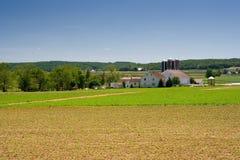 nabiału gospodarstwo rolne Pennsylvania wiejski Zdjęcie Stock