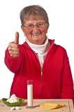 nabiału pensioneer produkty Zdjęcie Stock