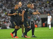 Nabil Dirar. Football players pictured during the 2016/17 UEFA Champions League Group E game between Tottenham Hotspur and AS Monaco on September 14, 2016 at Stock Photos