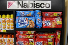 Nabisco Chocolate Chip Cookies Stock Images