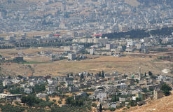 Nablus. Israel. Nablus - a city in the West Bank Iordan.Izrail Stock Images