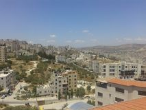 Nablus-rafeedia Palästina Stockbilder