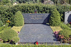 nabokov坟茔vladimir 库存图片