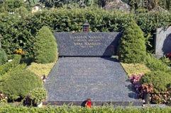 nabokov τάφος vladimir στοκ εικόνα