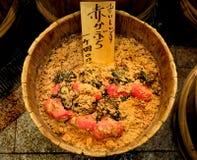 Nabos vermelhos japoneses conservados Foto de Stock