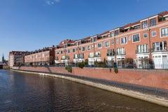 Nabrzeże budynki w Bremen Fotografia Stock