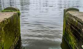 Nabrzeże na Rzecznym Thames fotografia stock