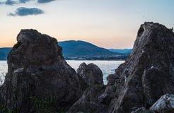 Nabrzeże od skał Obrazy Stock