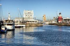 Nabrzeże przylądka miasteczko zdjęcia stock