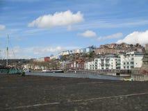 Nabrzeże rzeka, Bristol fotografia royalty free