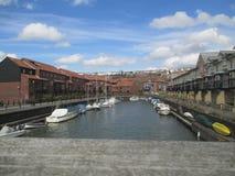 Nabrzeże rzeka, Bristol zdjęcie royalty free
