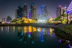 Nabrzeże w Doha, Katar obrazy stock