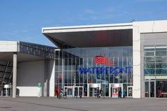 Nabrzeże zakupy centrum handlowe w Bremen Obraz Royalty Free